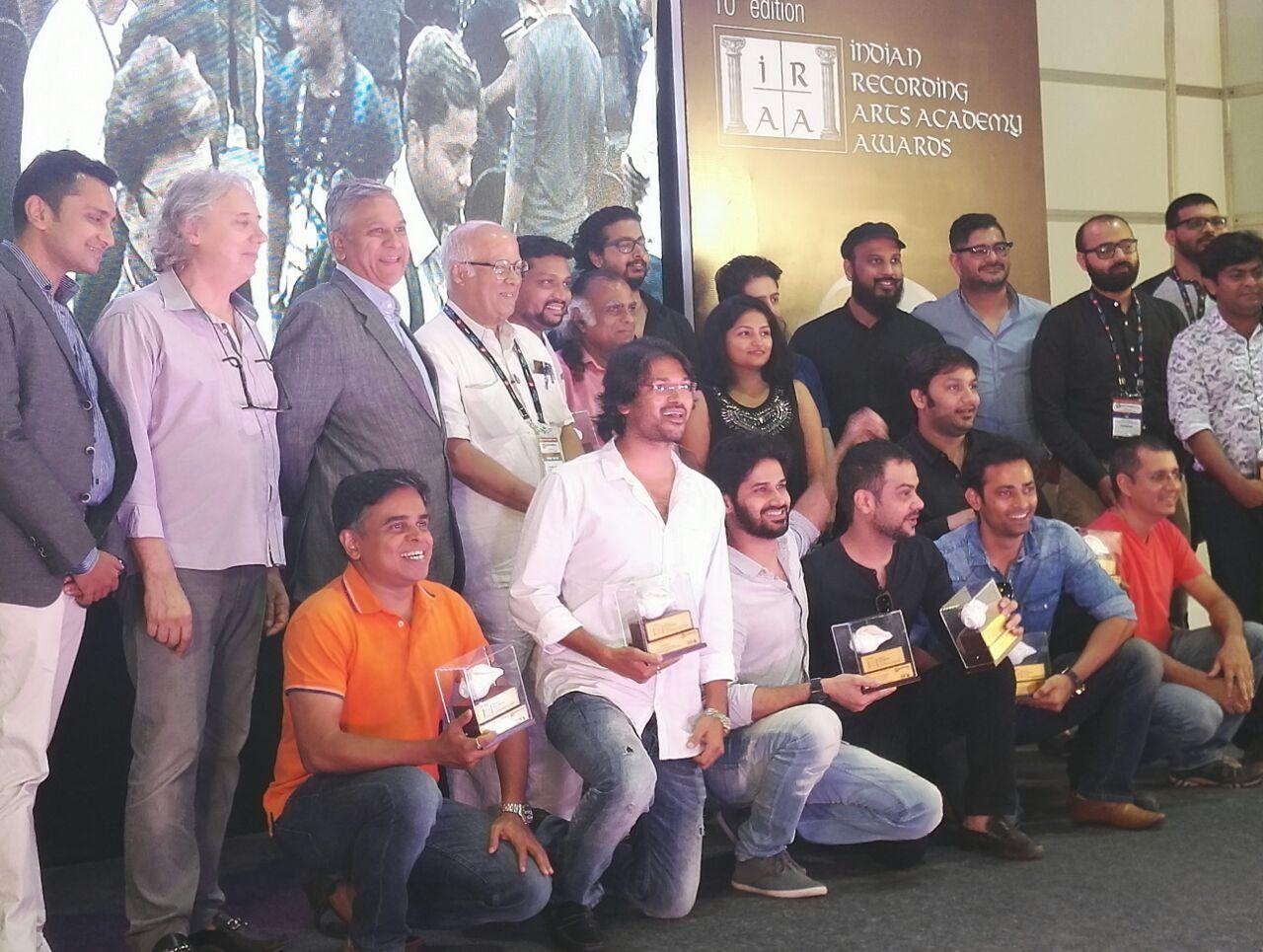 All IRAA Award winners