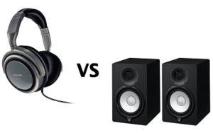 Headphones Vs. Studio Monitors