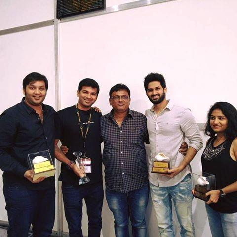 From left to right - Shane Macwan, Avinash Chalke, Pramod Chandorkar, Ninad Lad and Urmila Sutar