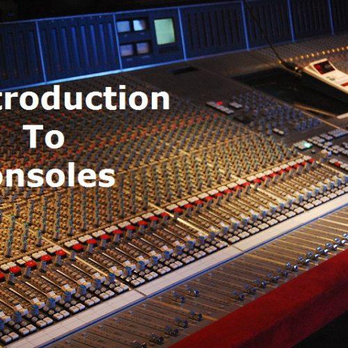Introduction to consoles